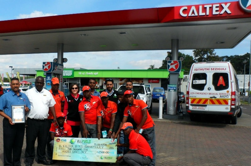 Customer First Award - Caltex Bird Sanctuary