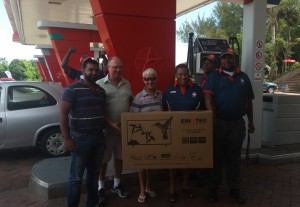 Zaheer (All Fuels) Des (Caltex Umtentweni) Lynne (Winner) CSAs